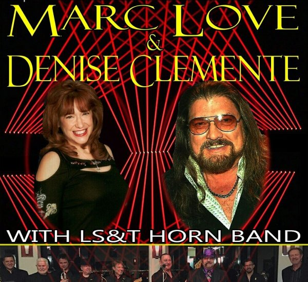 Marc Love & Denise Clemente With the Love, Sweat and Tears Horn Band