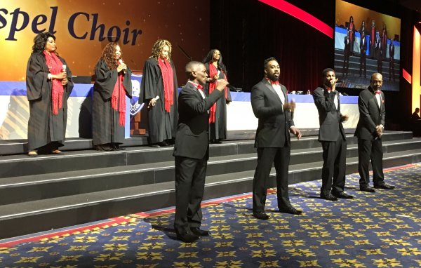 4front With the St. James Gospel Choir