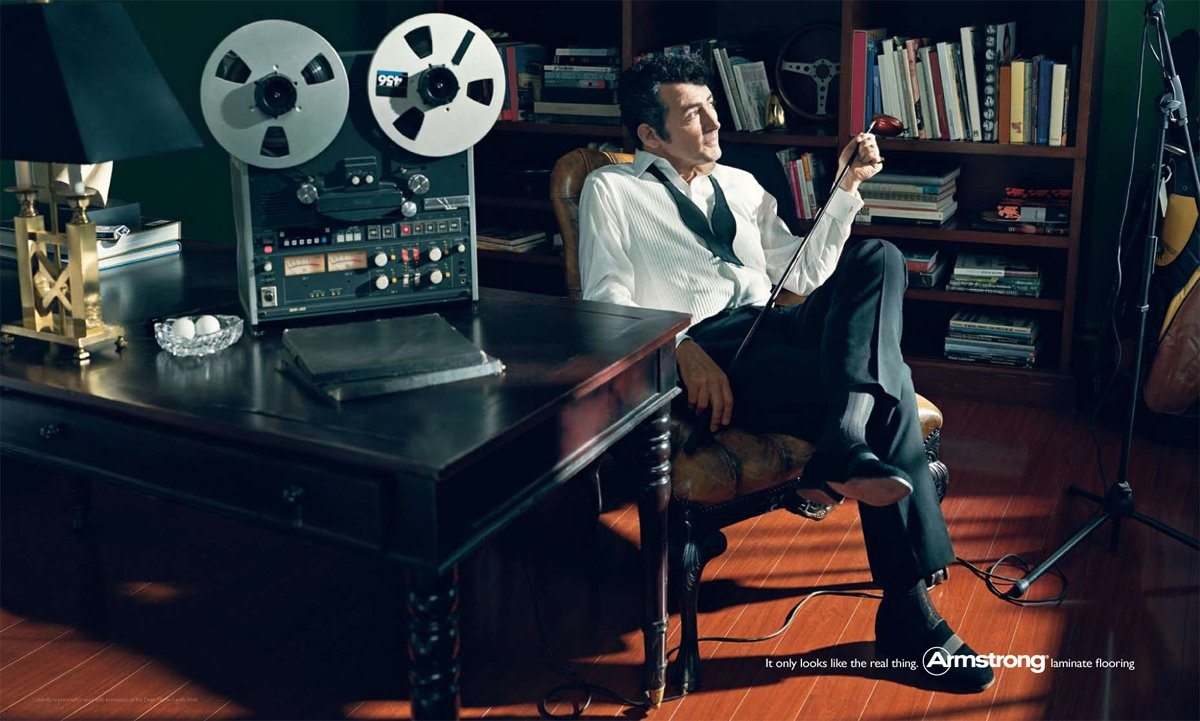 Andy As Dean Martin
